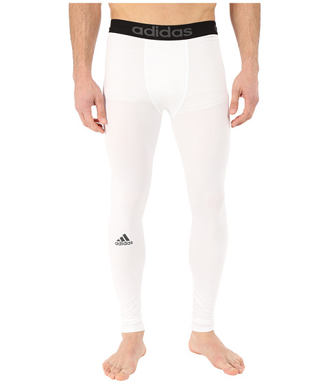 adidas - Team Issue Solid Tights (White) Men's Casual Pants