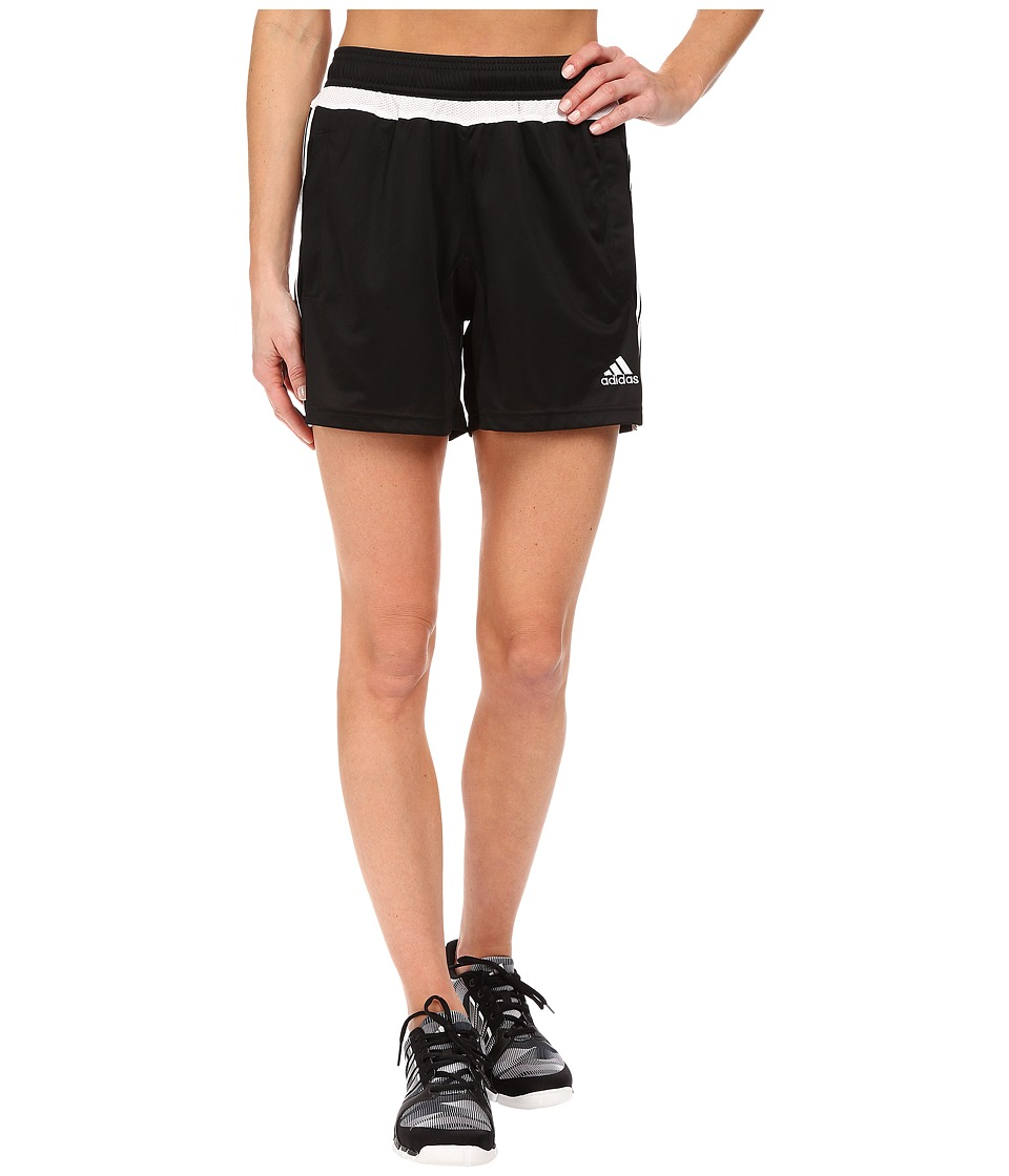 adidas - Tiro 15 Training Shorts (Black) Women's Shorts