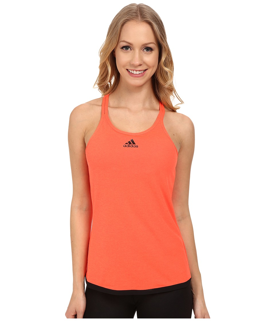 adidas - Climachill Tank Top (Chill Solar Red Melange) Women