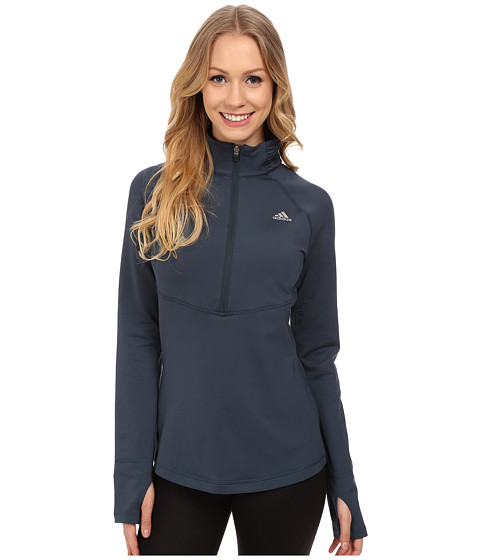 adidas - Techfit Cold Weather 1/2 Zip (Midnight F15) Women