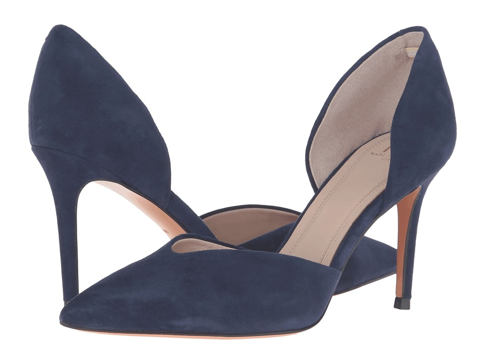 Marc Fisher LTD - Tammy (Blue Suede) High Heels