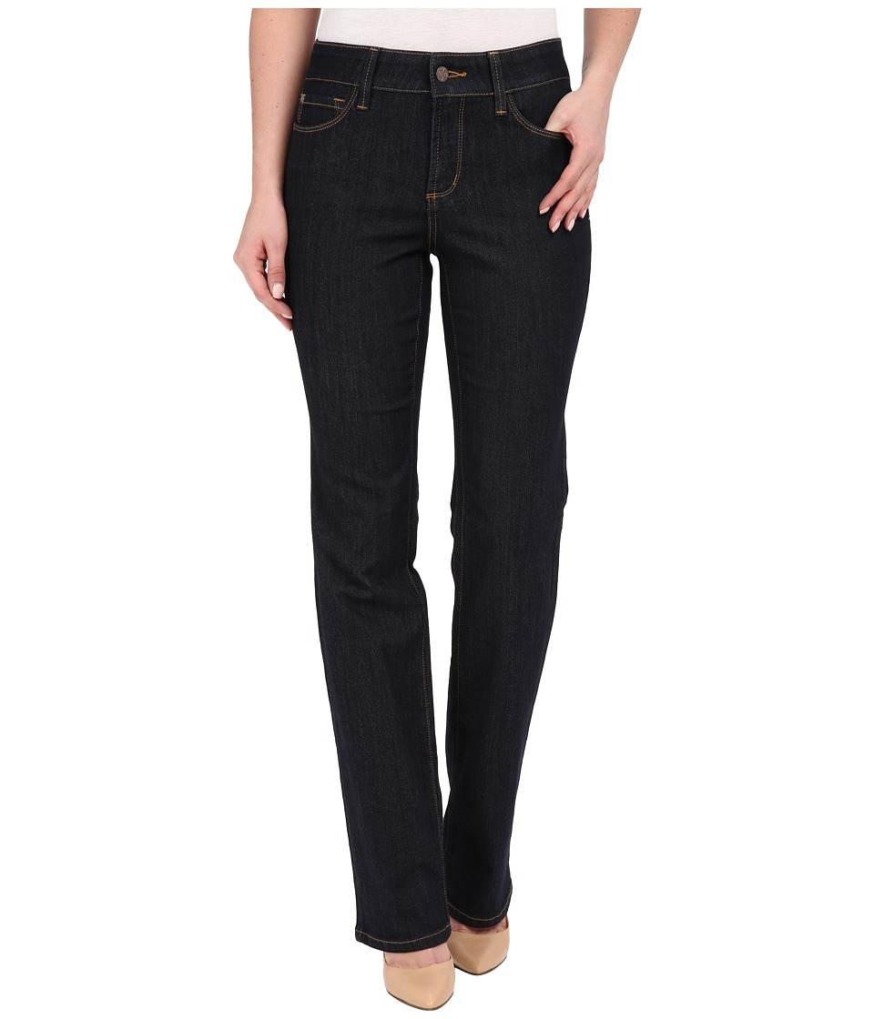 NYDJ - Marilyn Straight Jeans in Dark Enzyme (Dark Enzyme) Women's Jeans