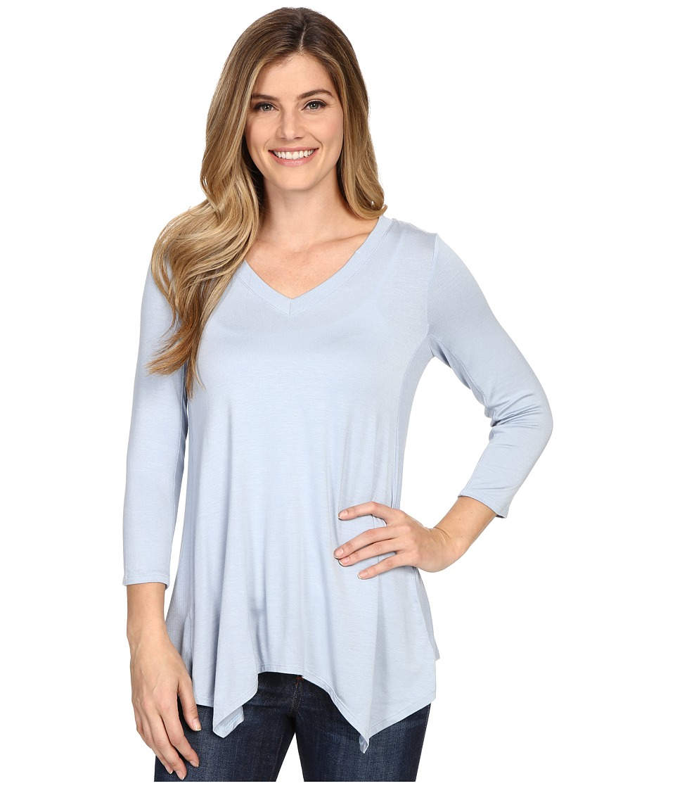 NYDJ - Novelty Scarf Hem Top (Chambray) Women