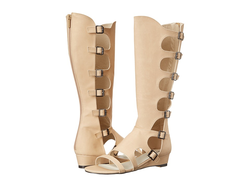 Michael Antonio - Creevey (Natural) Women's Dress Pull-on Boots