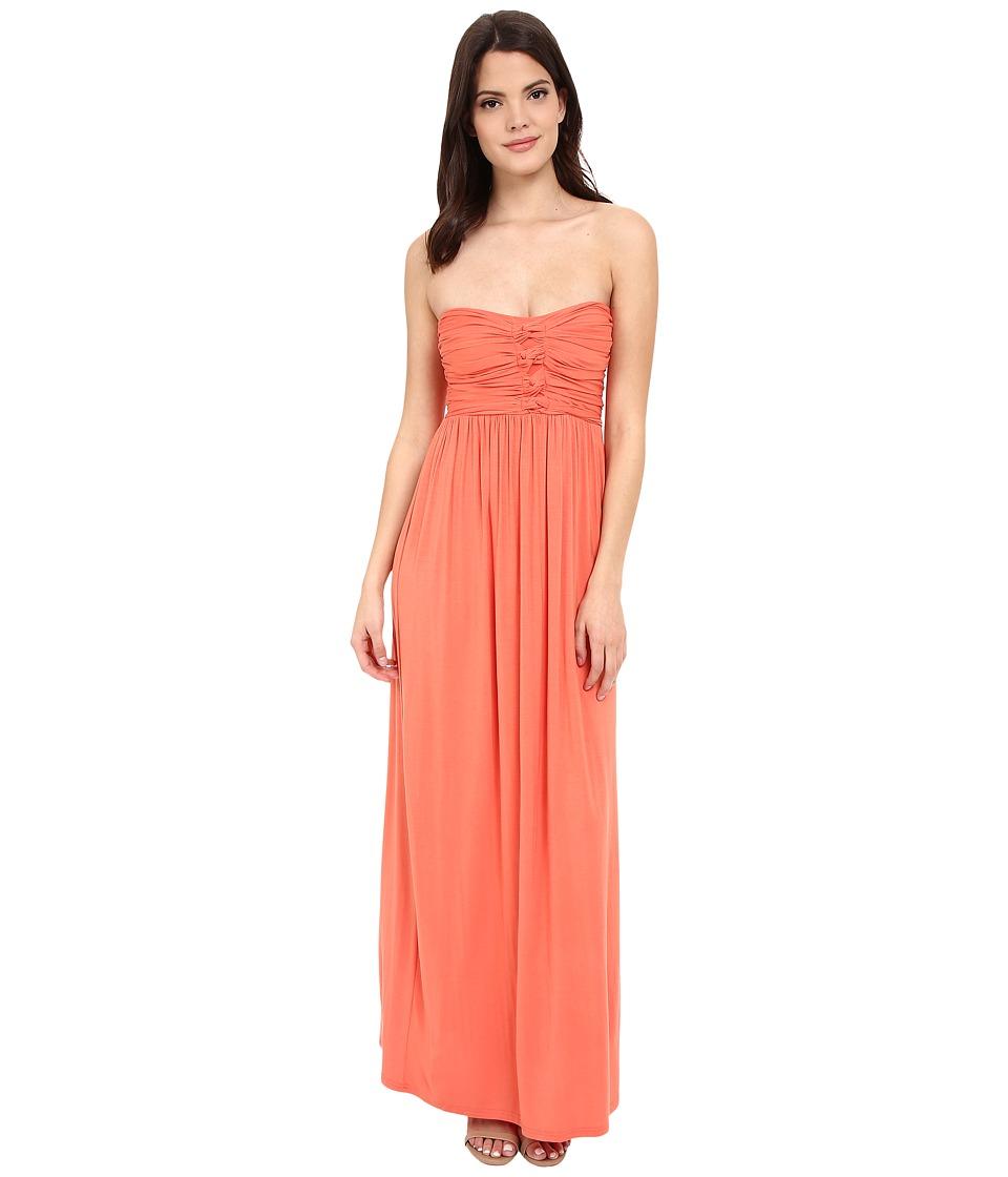 Culture Phit - Liliana Maxi Dress (Papaya) Women's Dress