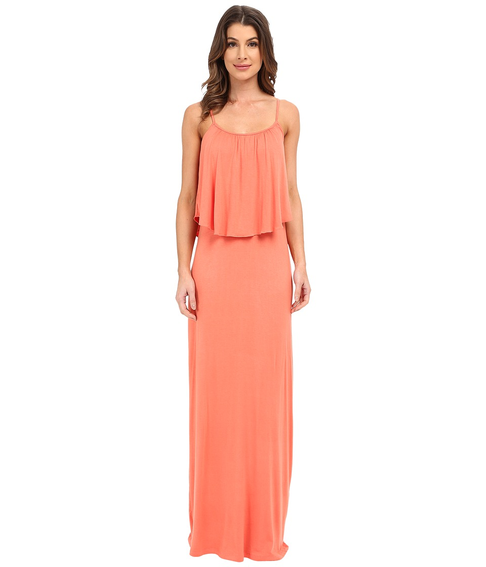 Culture Phit - Monicah Maxi Dress (Papaya) Women's Dress