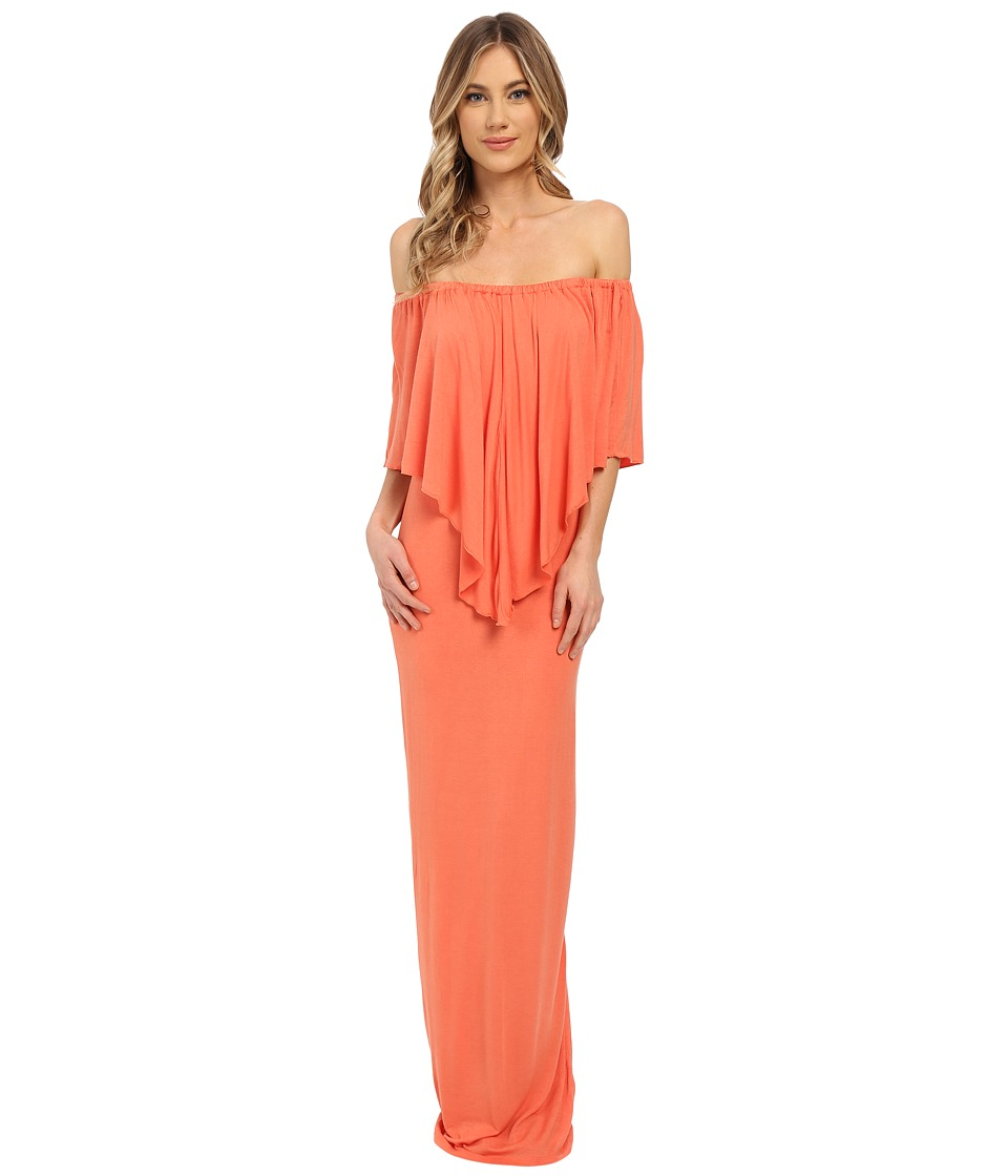 Culture Phit - Ayden Dress (Papaya) Women's Dress