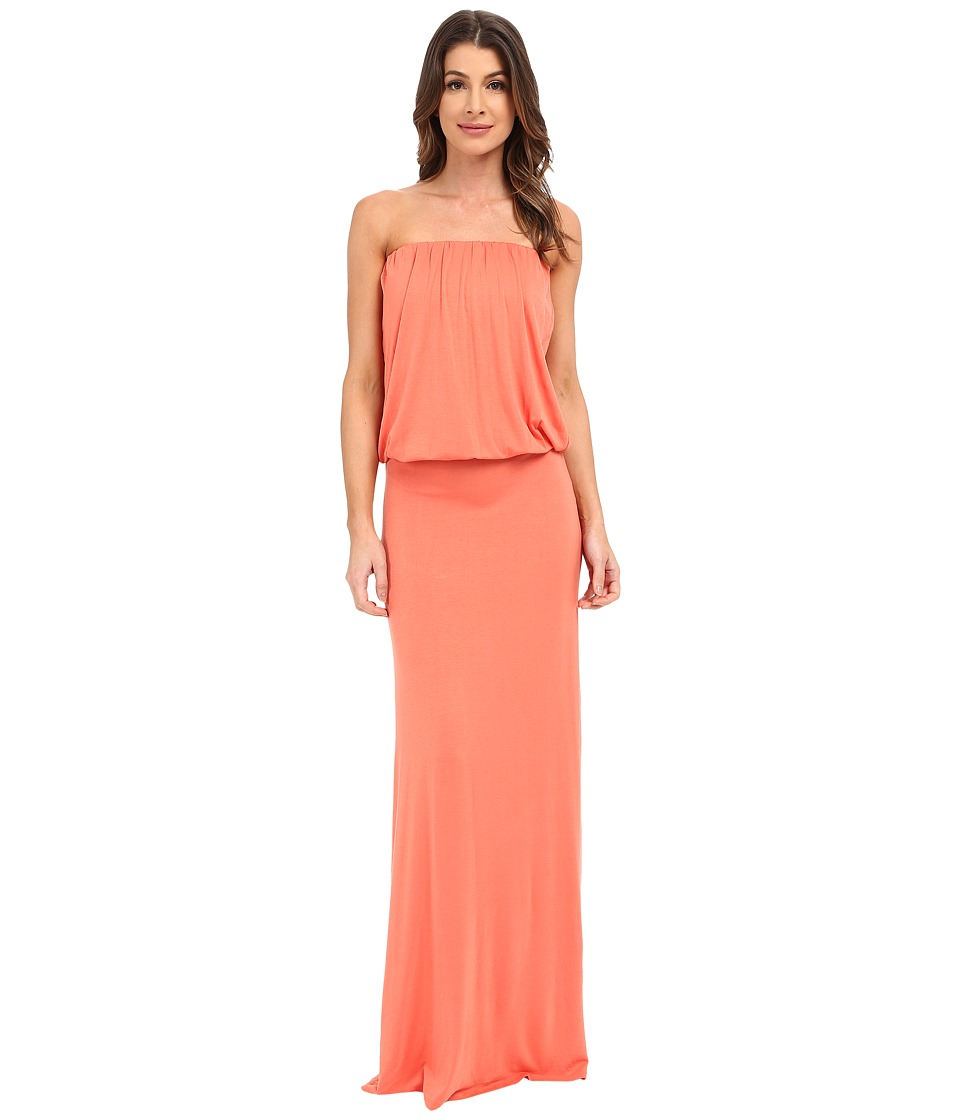 Culture Phit Riena Maxi Dress (Papaya) Women's Dress