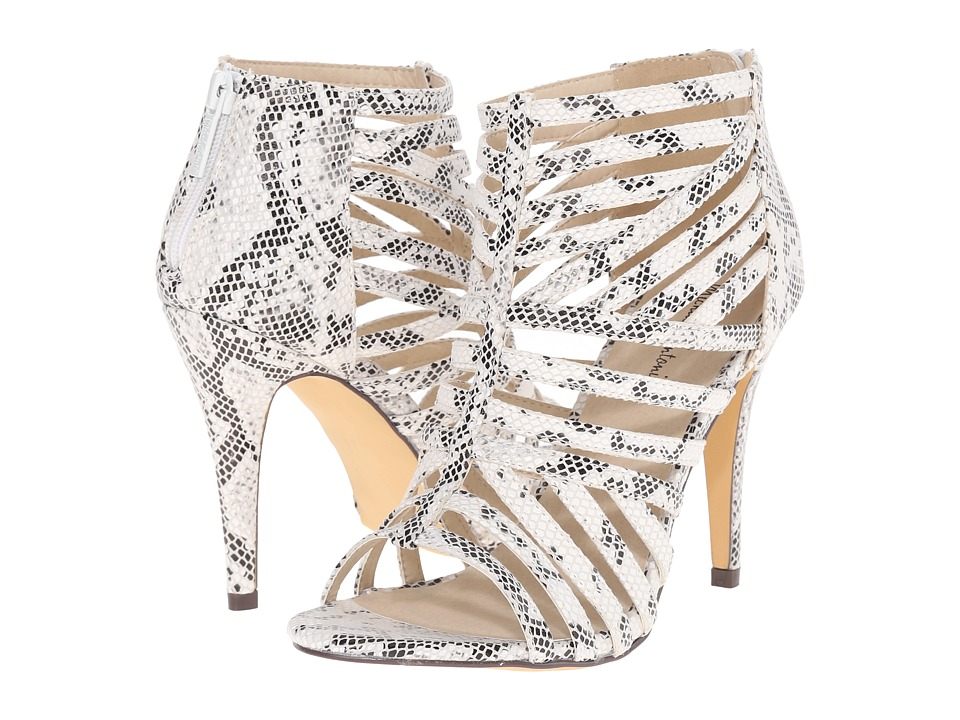 Michael Antonio - Tayte - Reptile (White) High Heels