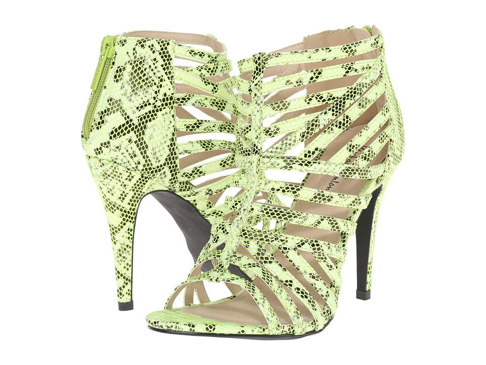 Michael Antonio - Tayte - Reptile (Lime) High Heels