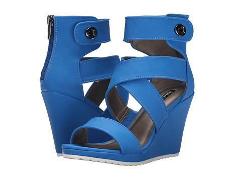 Michael Antonio - Gwin (Blue) Women's Wedge Shoes