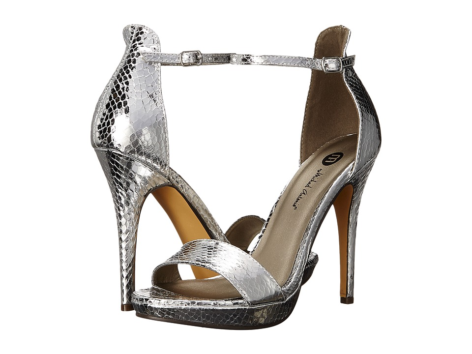 Michael Antonio - Rally - Snake (Silver) Women's Shoes