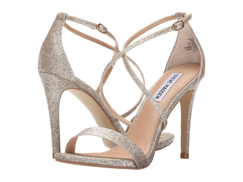 Steve Madden - Feliz (Gold Glitter) High Heels