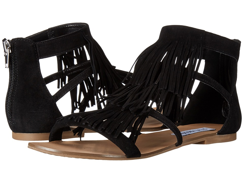 Steve Madden - Favore (Black Suede) Women