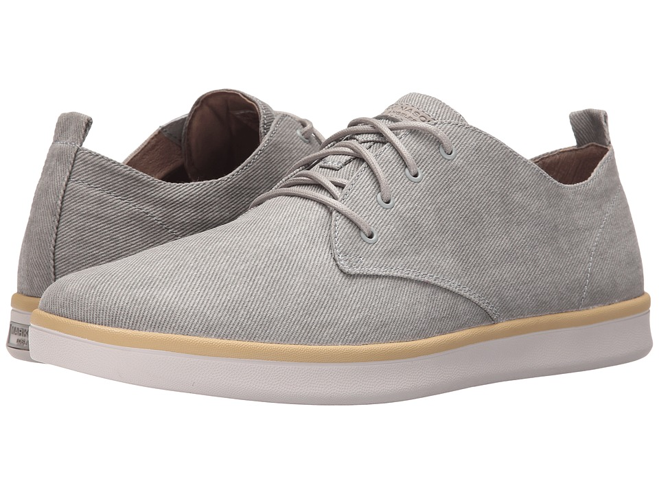 Mark Nason - Sycamore (Gray Canvas/Natural Pin/White Bottom) Men's Lace up casual Shoes
