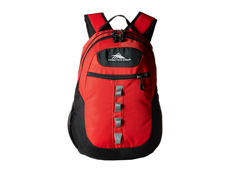 High Sierra - Opie Backpack (Crimson/Black) Backpack Bags