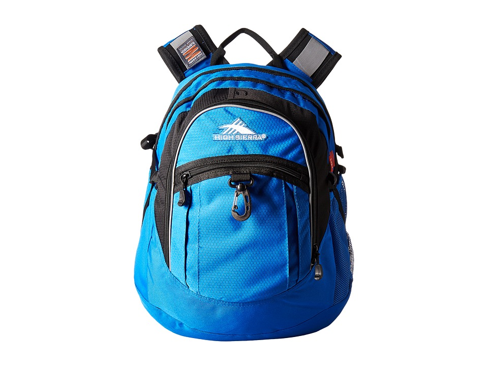 High Sierra - Fat Boy Backpack (Vivid Blue/Black) Backpack Bags