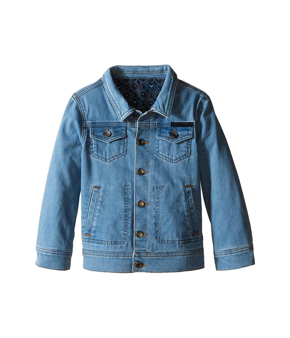 Dolce & Gabbana Kids - Denim Jacket (Toddler/Little Kids) (Blue) Boy's Jacket
