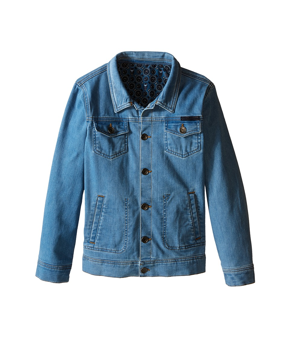 Dolce & Gabbana Kids - Denim Jacket (Big Kids) (Blue) Boy's Jacket