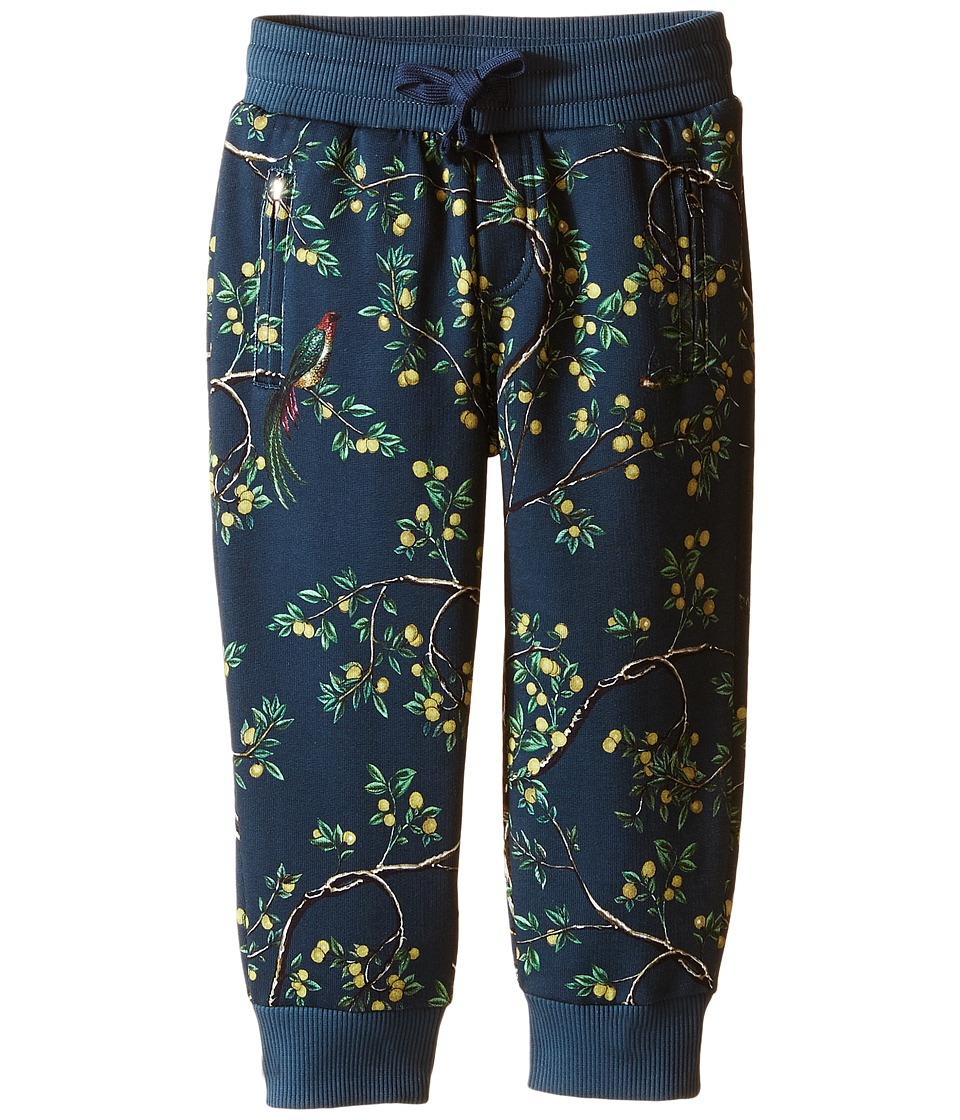 Dolce & Gabbana Kids - Limoni Jogger (Toddler/Little Kids) (Navy) Boy's Casual Pants