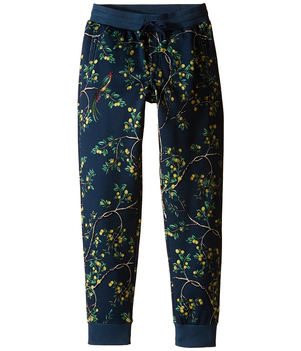 Dolce & Gabbana Kids - Limoni Jogger (Big Kids) (Navy) Boy's Casual Pants