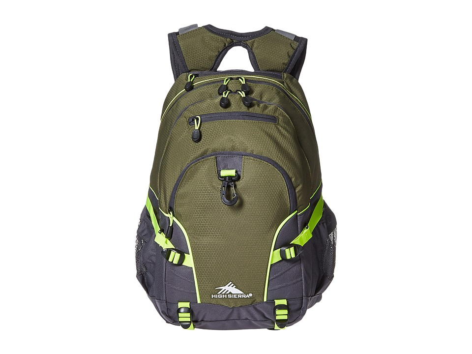 High Sierra - Loop Backpack (Moss/Mercury/Zest) Backpack Bags