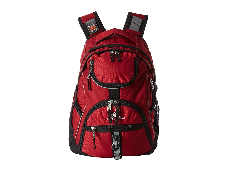 High Sierra - Access Backpack (Brick/Black) Backpack Bags