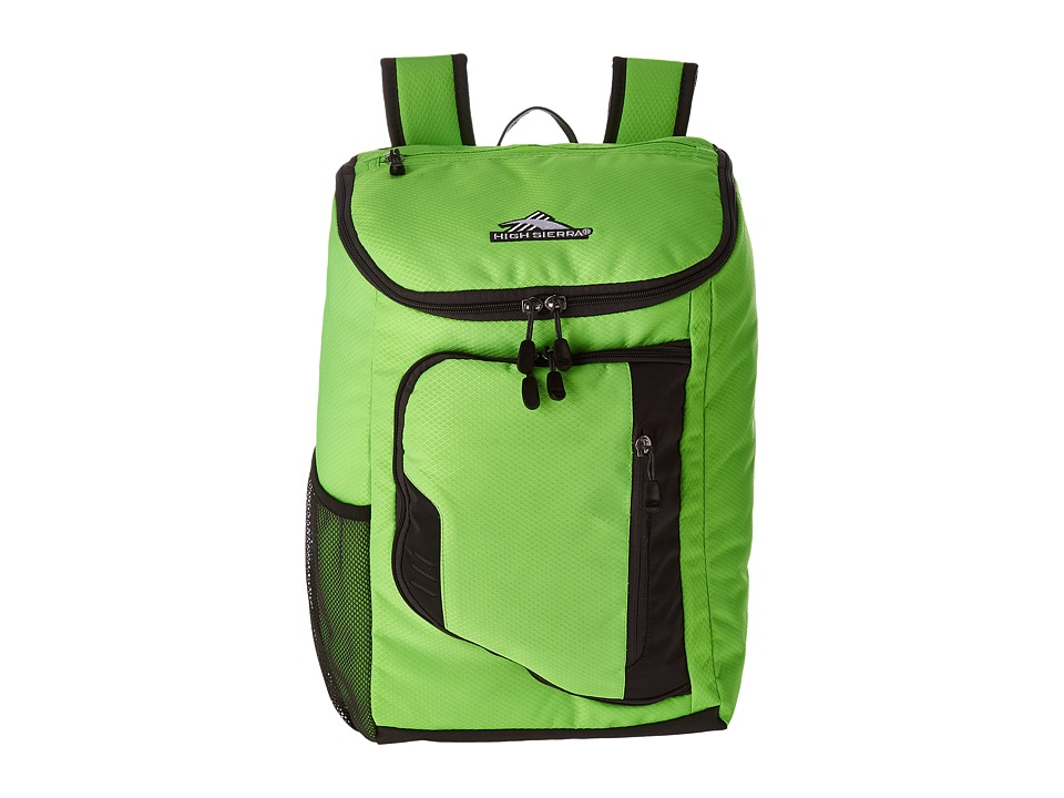 High Sierra - BTS Poblano Backpack (Lime/Mercury) Backpack Bags