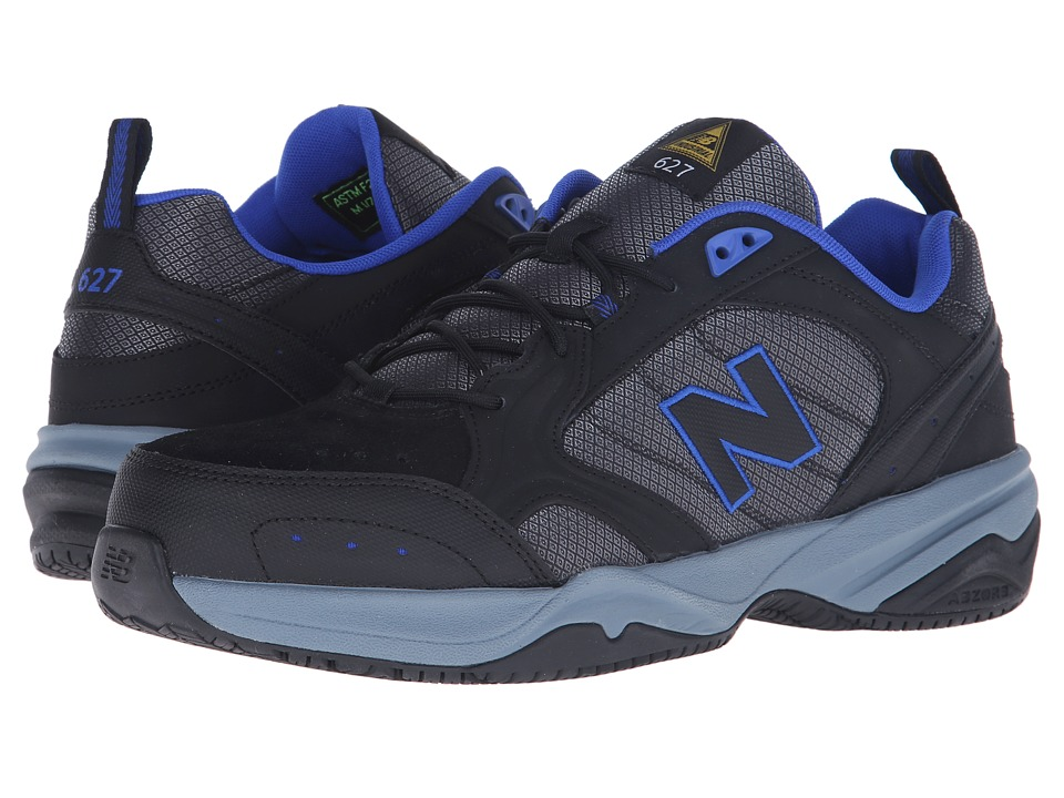 New Balance - MID627 (Black/Pacific Blue) Men's Industrial Shoes
