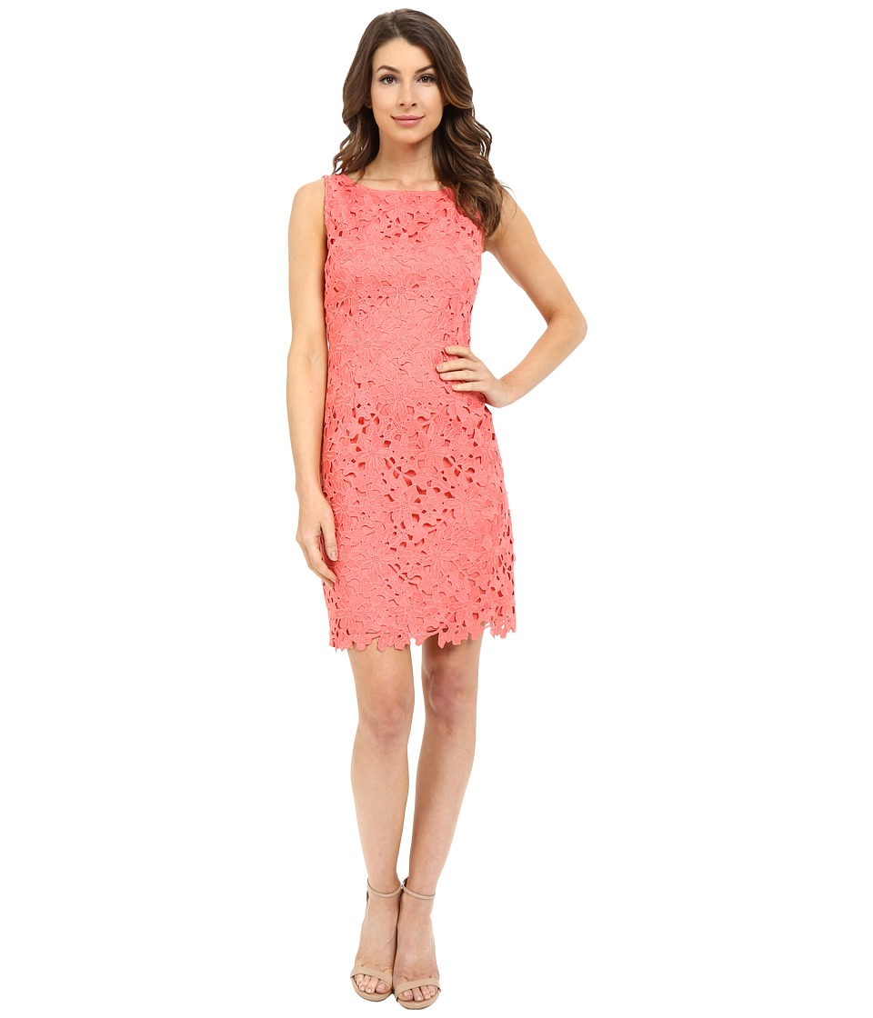 Tahari by ASL - Bettie - Q Dress (Coral) Women's Dress