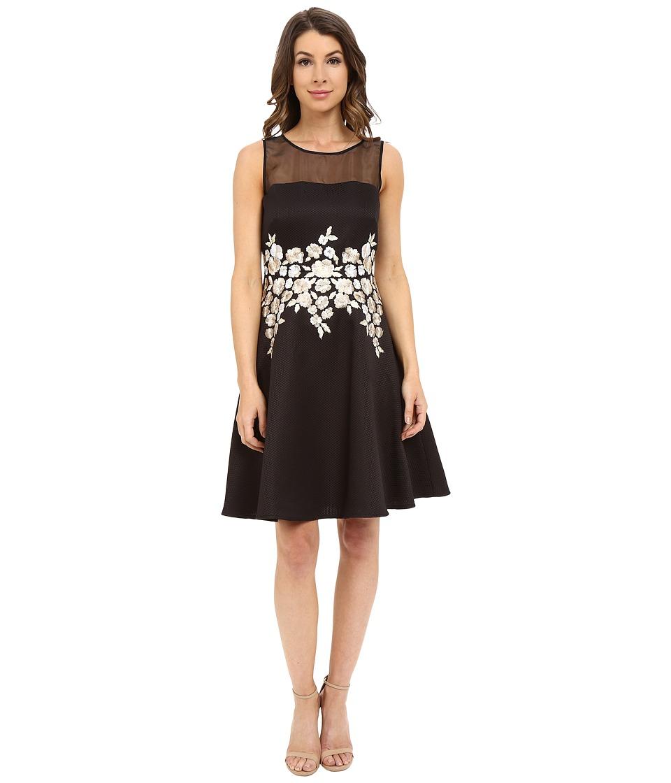 Tahari by ASL - Hollianne - P Dress (Black/Taupe) Women's Dress
