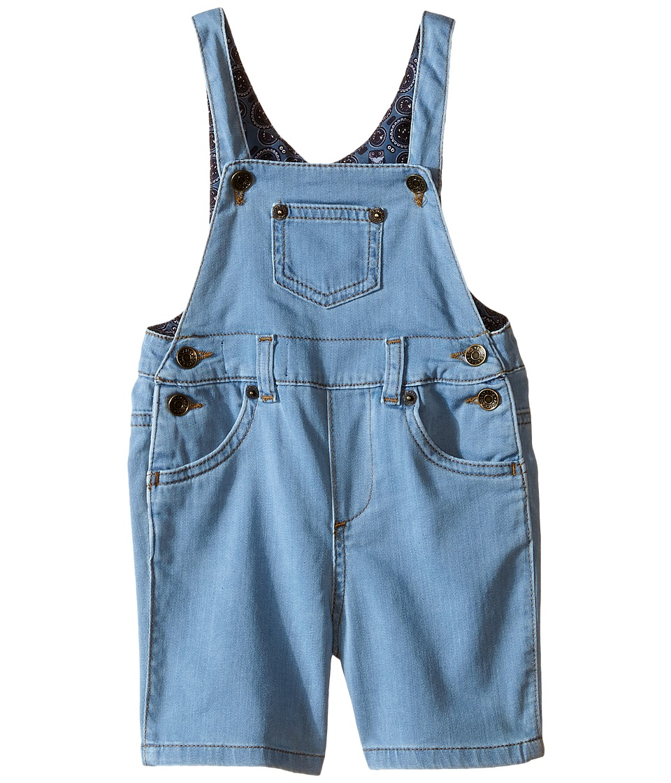 Dolce & Gabbana Kids - Denim Overalls in Bright Blue (Infant) (Bright Blue) Boy's Overalls One Piece
