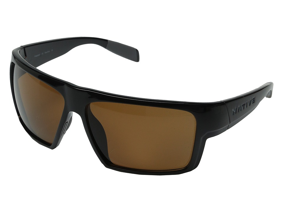 Native Eyewear - Eldo (Iron/Dark Gray/Iron/Brown) Sport Sunglasses