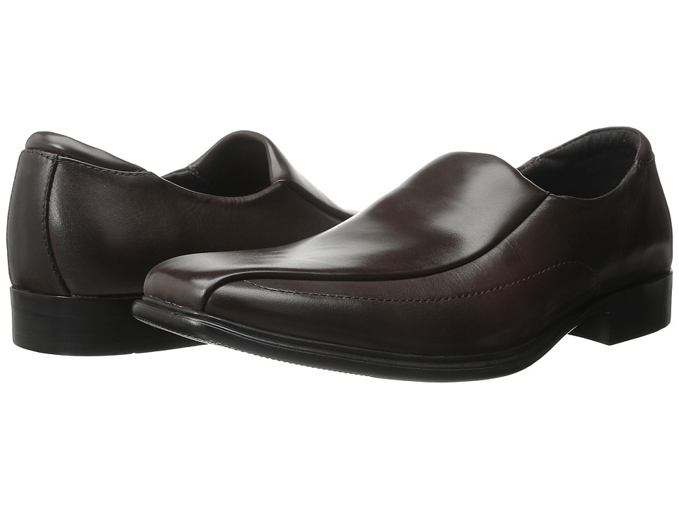 Mark Nason - Nightfall (Dark Brown Leather) Men's Slip on Shoes