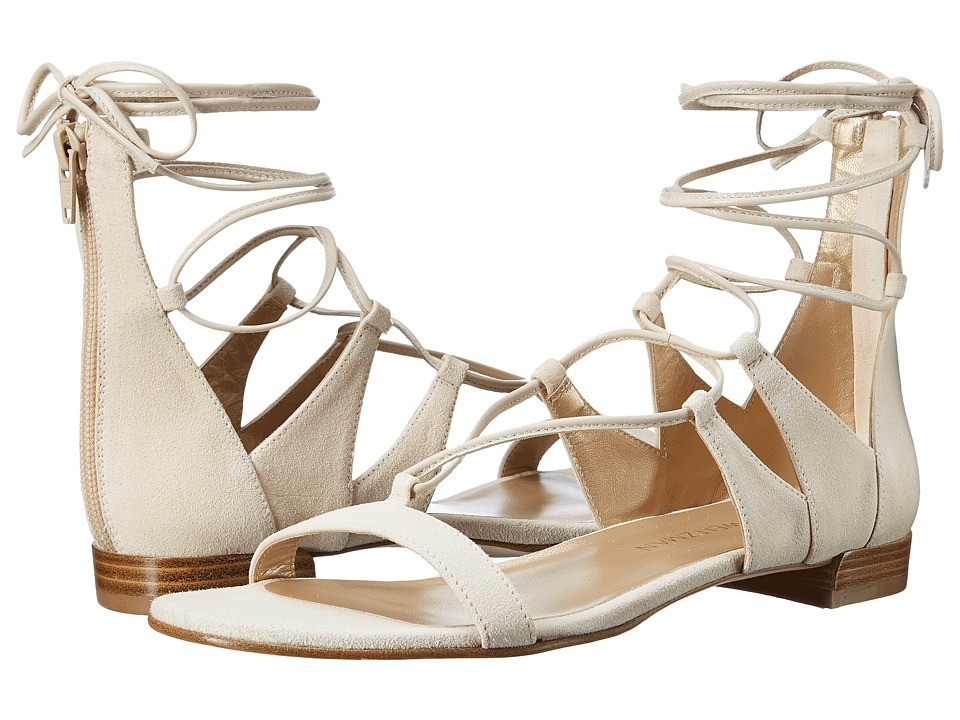 Stuart Weitzman Tieup (Cream Suede) Women
