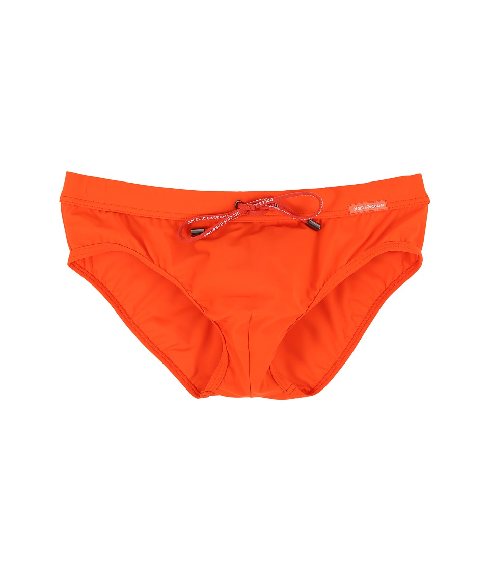 Dolce & Gabbana - Beachwear Brief (Orange) Men's Underwear