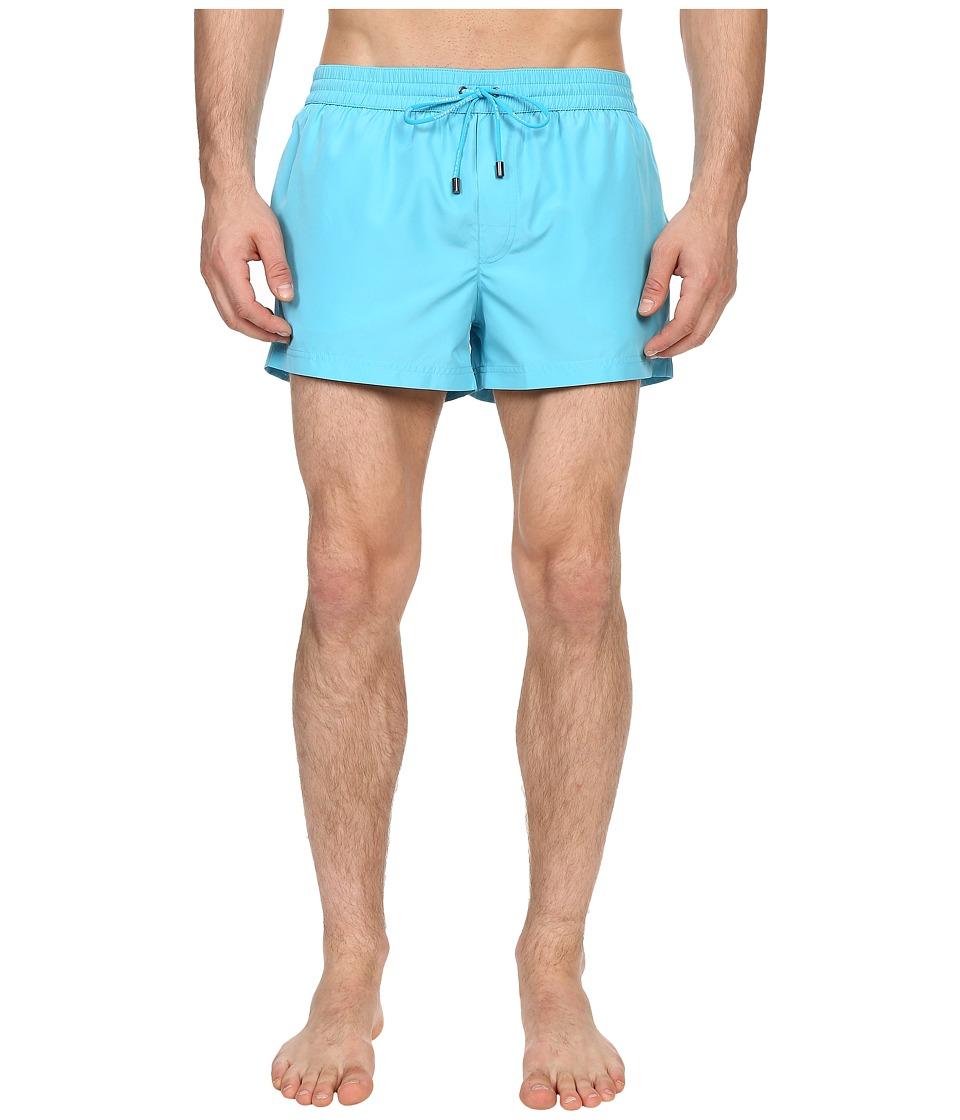 Dolce & Gabbana - Beachwear Shorts (Turquoise) Men's Underwear