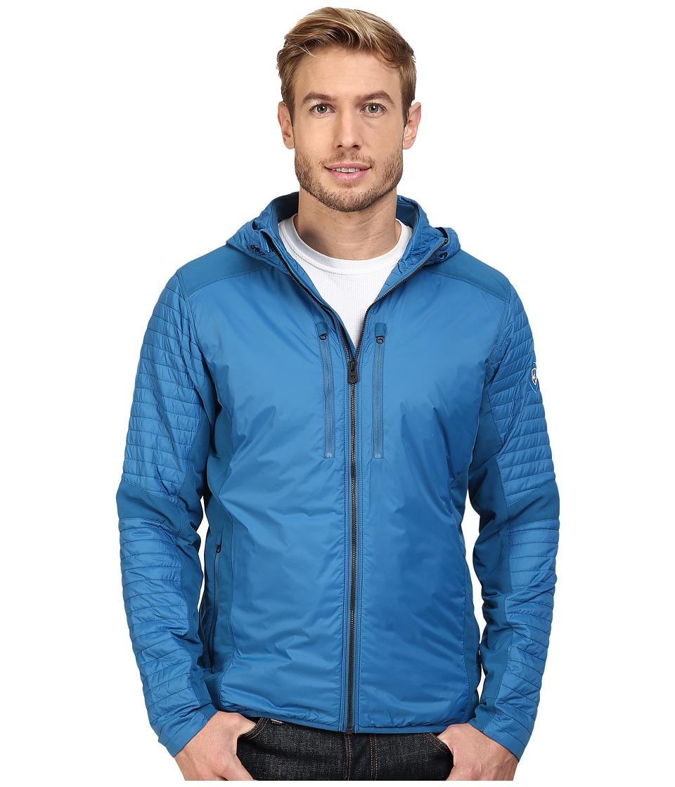 KUHL - Firefly Hoodie (Deep River Blue) Men's Coat