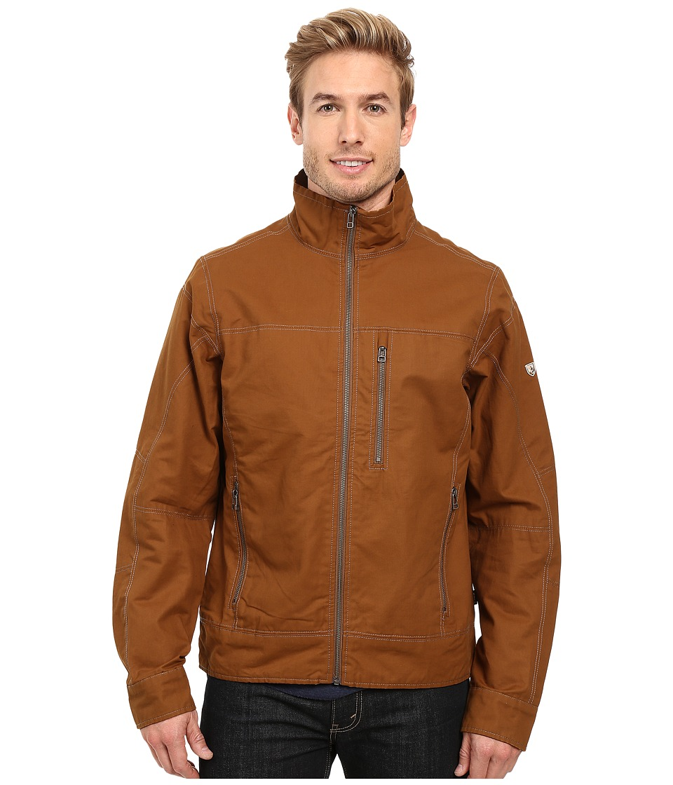 KUHL - Burr Zip Jacket (Teak) Men's Coat