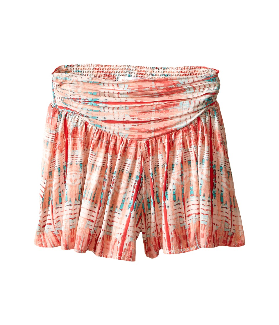 Ella Moss Girl - Whitney Shorts (Big Kids) (Peach) Girl's Shorts