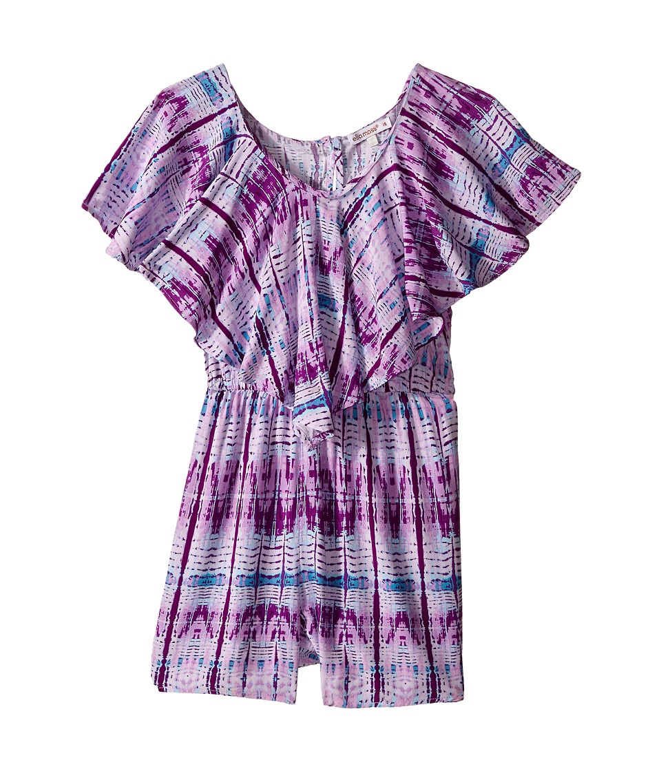 Ella Moss Girl - Layla Knit Romper (Big Kids) (Lilac) Girl's Jumpsuit & Rompers One Piece