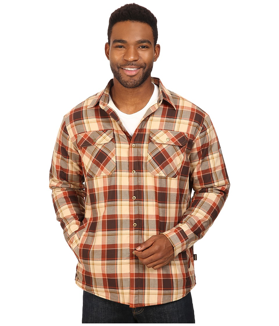 KUHL - Outrydr Long Sleeve Shirt (Rustic Brown) Men's Long Sleeve Button Up