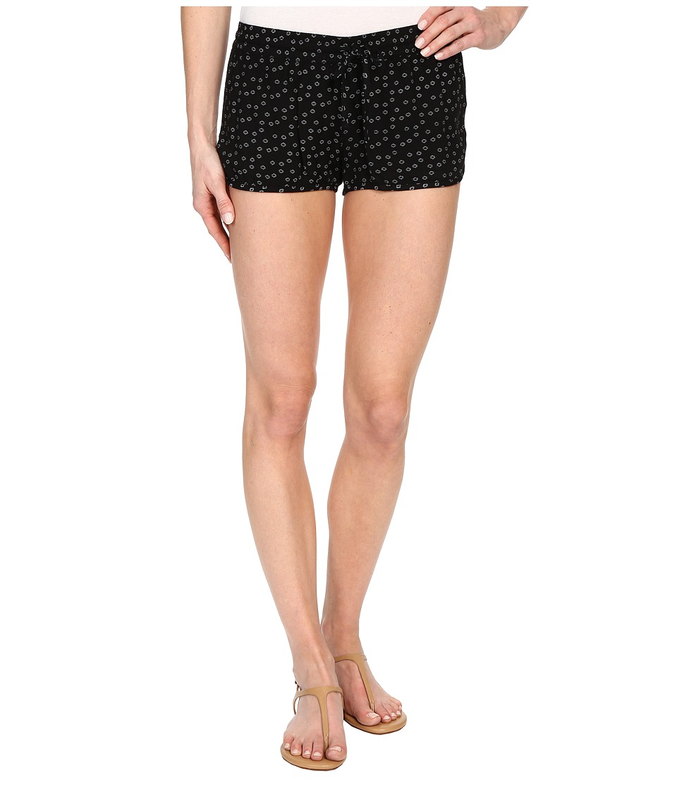 Hurley - Beachrider Woven Shorts (Black E) Women's Shorts