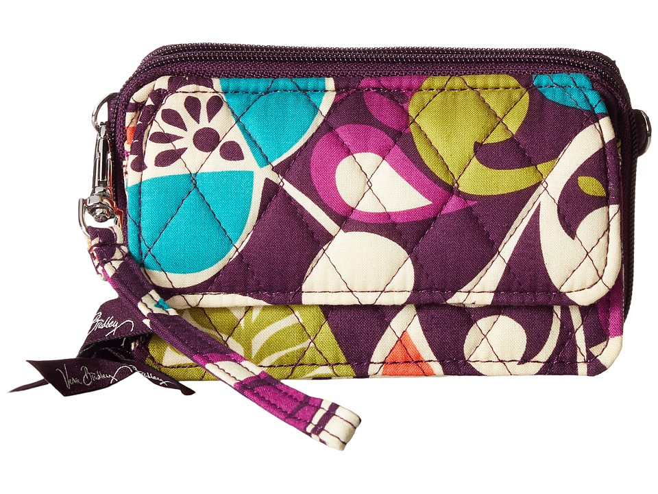 Vera Bradley - All In One Crossbody (Plum Crazy) Cross Body Handbags