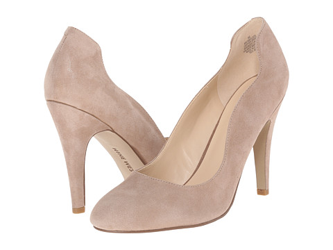 Nine West - Smolder (Natural Suede) High Heels