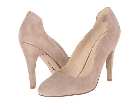 Nine West - Smolder (Natural Suede) High Heels