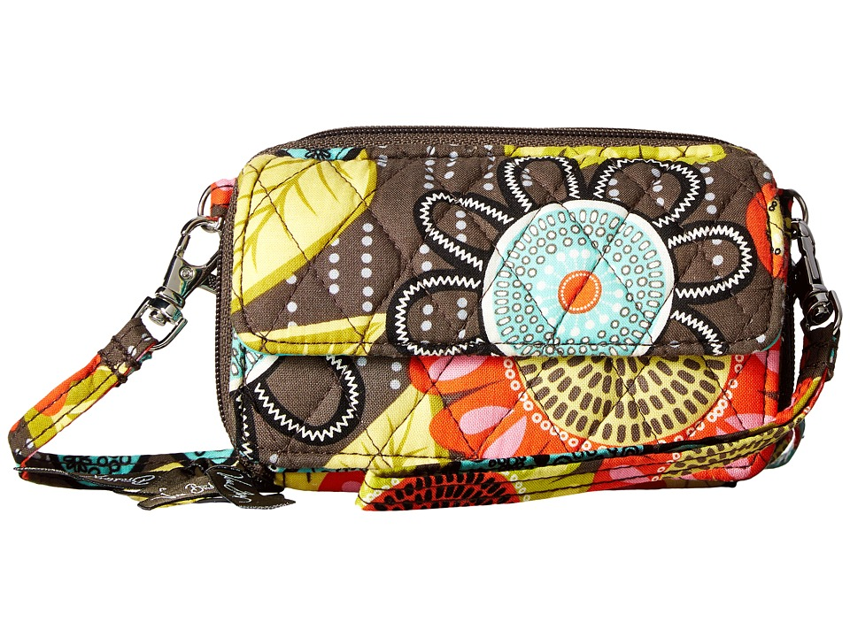 Vera Bradley - All In One Crossbody (Flower Shower 1) Cross Body Handbags