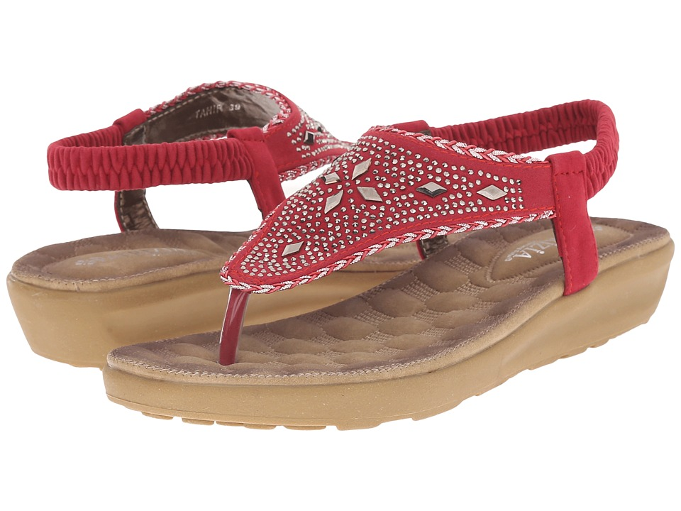 PATRIZIA - Tahir (Red) Women's Sandals