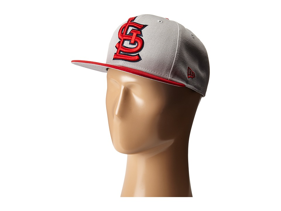 New Era - Logo Grand Redux St Louis Cardinals (Grey) Caps