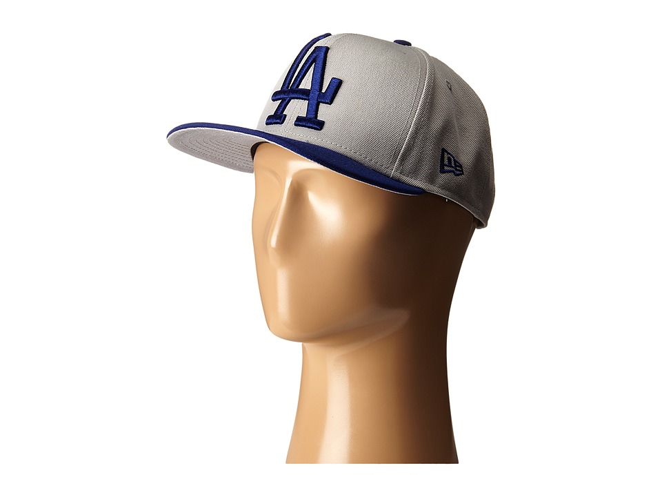 New Era - Logo Grand Redux Los Angeles Dodgers (Grey) Caps